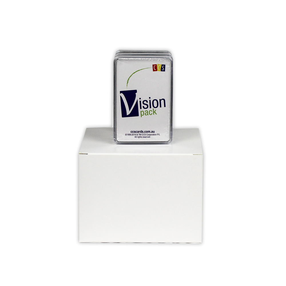 12 CCS Vision Packs in white cardboard box