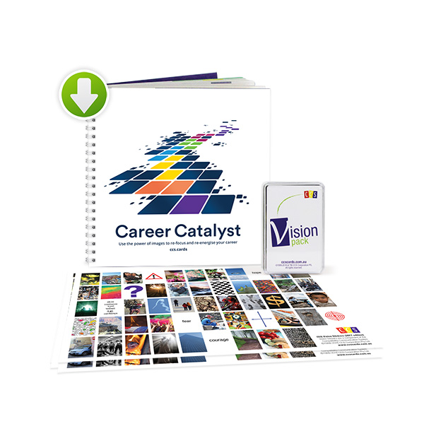 CCS Career Catalyst Kit with download— using image cards re-energise and re-focus your career.
