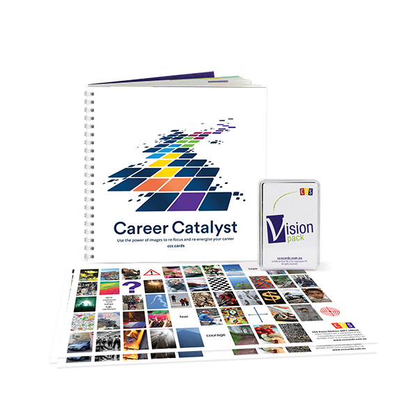 CCS Career Catalyst Kit — using image cards re-energise and re-focus your career.
