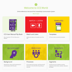 Online access to CCS World and Unpacked: CCS User Manual