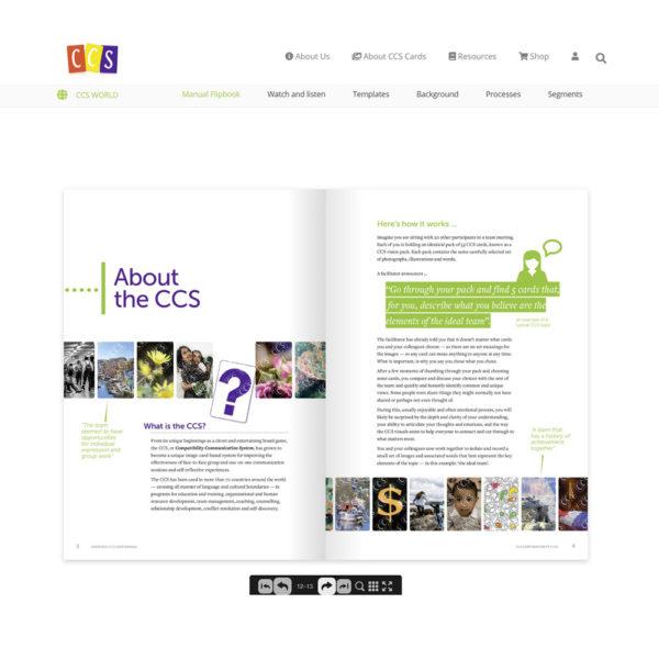 CCS World flipbook version of Unpacked