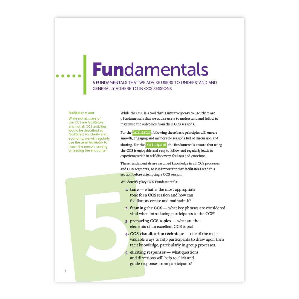 CCS Cards Fundamentals of facilitating with image cards
