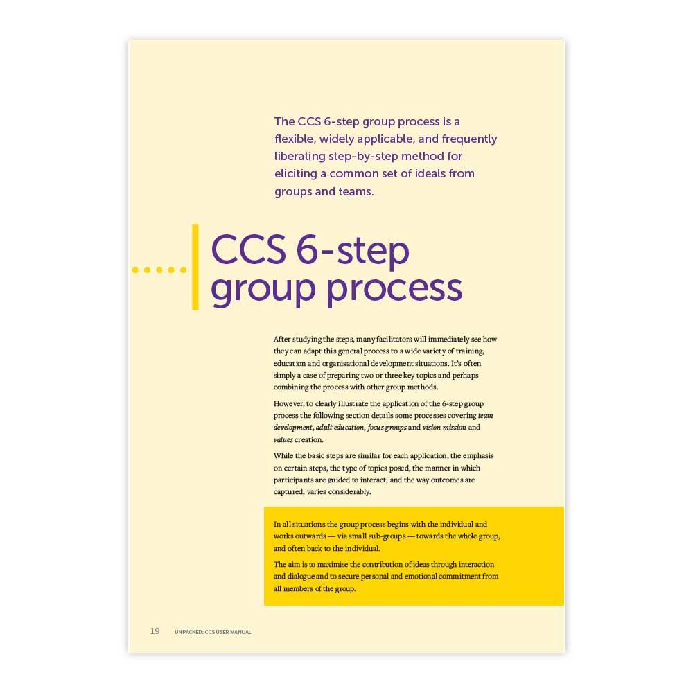 CCS Group Process extract