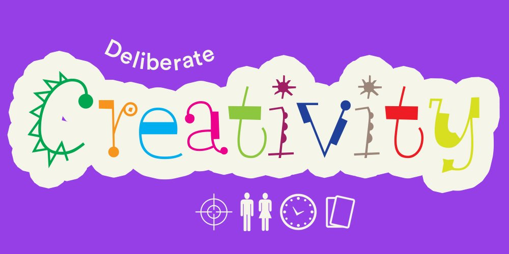 Deliberate creative thinking blog banner