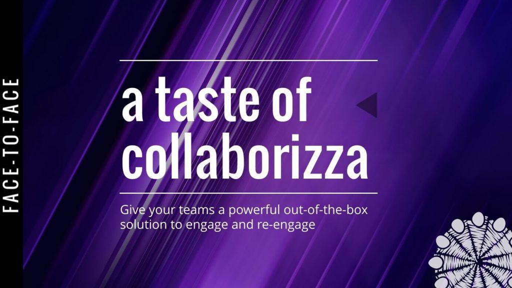 Event banner - a taste of collaborizza
