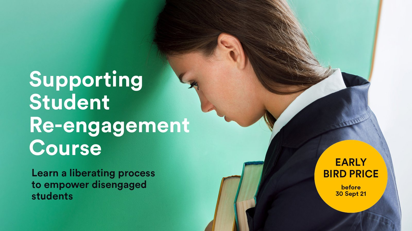 early bird price for Supporting Student Re-engagement